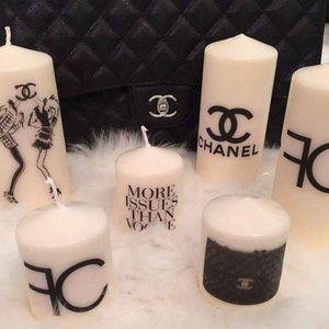Designed custom candles